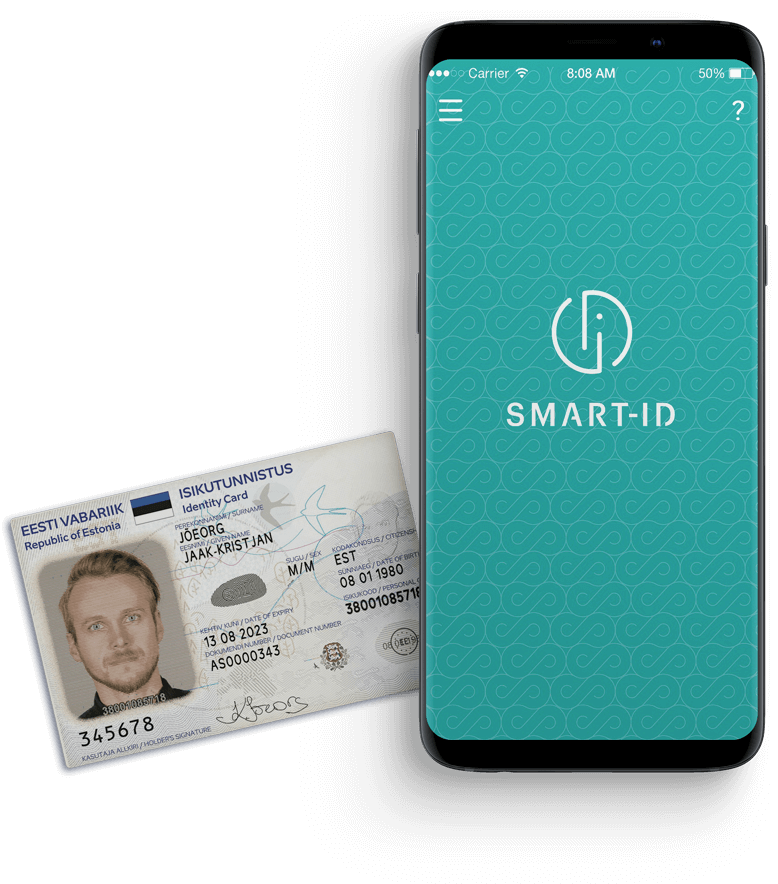 vimberg.ee ID-card Smart-ID